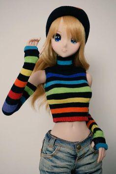 Kizuna Yumeno Smart Doll by myshax86