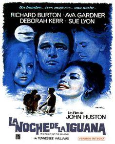 Cinemelodic: Crítica: LA NOCHE DE LA IGUANA (1964) -Parte 2/3-
