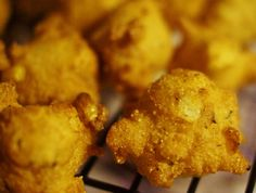 Recipes from Disney World! Walt's Favorite Hush Puppies, as is served as is served at Disneyland and sought after at WDW!