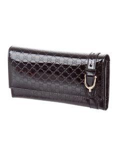 Microguccissima Nice Wallet w/ Tags