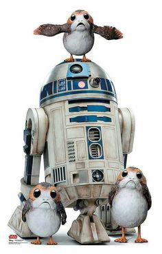 New band idea -- R2 and the Porgs.  #StarWars