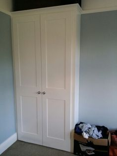 Fitted wardrobe ,wardrobe with shaker doors. Made & fitted