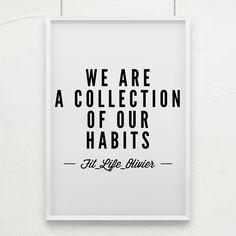 Si tu fais de l'exercice tous les matins le résultat le plus naturel c'est d'être en meilleure forme. Si tu bouffes des sandwichs tous les matins alors attend toi à prendre des kilos.  Nos habitudes créent qui nous sommes.  Atteindre tes objectifs ? Facile. Nous devons juste créer des habitudes qui contribuent à nos objectifs.  C'est le moment de créer des habitudes et c'est le moment de voir les résultats.  Voici une habitude que tu peux commencer maintenant et qui est très facile.  Au lieu…