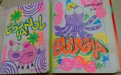 eddy Diy And Crafts, Doodles, Notebook, Lily, Kawaii, Stamp, Lettering, Creative, How To Make