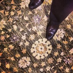 #loveofrugs round #handknotted #floral / on Instagram http://ift.tt/1dmTQl1 by NWRUGS http://ift.tt/NRpbD1