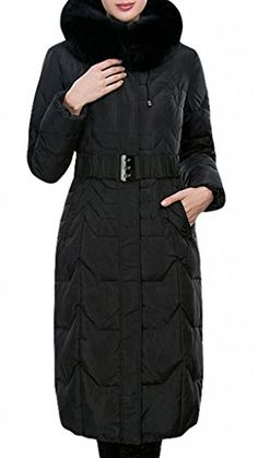 Yypm Women's Real Fox Fur Trim Long Belted Quilted Down Coat Winter Parka  http://www.yearofstyle.com/yypm-womens-real-fox-fur-trim-long-belted-quilted-down-coat-winter-parka/