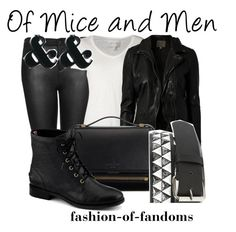 """Of Mice and Men"" by fofandoms ❤ liked on Polyvore"