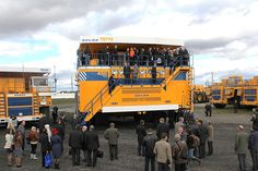Belaz 75710, with a payload capacity of 496t, is the world's biggest dump truck. - Image - Mining Technology