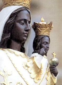 Today, December is the feast day of Our Lady of Loreto , a longstanding devotion to Our Blessed Mother. The title Our Lady of Loreto ref. Poseidon Statue, Claudia Tremblay, La Madone, Statue Tattoo, Black Jesus, Catholic Saints, Patron Saints, Holy Mary, Madonna And Child