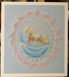 Parchment Cards, Baba, Card Designs, Baby Cards, Hobbies And Crafts, Clarity, Card Ideas, Decorative Plates, Boards