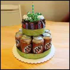 Cowie's Craft And Cooking Corner: Birthday Cake Gift