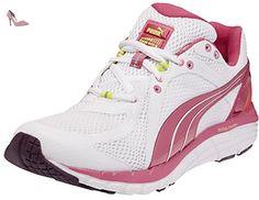 Evospeed Indoor Netfit 3, Chaussures de Fitness Mixte Adulte, Blanc (White-Blue Depths-Toreador), 40 EUPuma