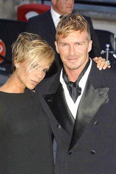 stars w/ matching hair: Victoria & David Beckham