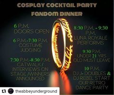 TONIGHT THE BIGGEST COSPLAY & FANDOM PARTY IS AT THE ABBEY UNDERGROUND!! Event Page: ift.tt/28U88j4 #cosplay #cosplayer #costumeparty #livemusic #clubbing #Dentoning #WeDentonDoIt #DiscoverDenton #NightLife #PubCrawl #UNT #TWU #NCTC #doorprizes #loot #cosplaycontest #Repost @theabbeyunderground  #dentonslacker #denton #doingitdenton #dentonite #dentontx #scoutdenton