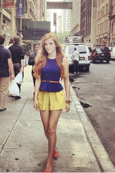 Love this outfit - Bella Thorne