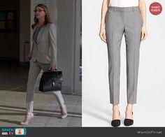 Emily's suit pants on Revenge. Outfit Details: http://wornontv.net/44677/ #Revenge