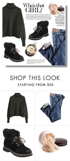 """Who¨s that girl"" by fashion-pol ❤ liked on Polyvore featuring Citizens of Humanity, Chanel and Laura Mercier"