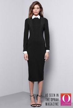 For the lucky tall ladies (longtallsally.com) Removable Collar Dress