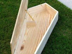 Halloween Decoration: How to Make a Miniature Coffin : How-To : DIY Network