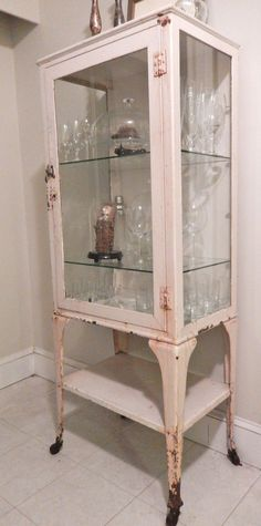 boston ANTIQUE Dental CABINET vintage industrial apothecary medical machine age #industrial