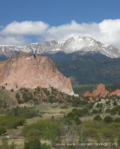Garden of the Gods and Pikes Peak, Colorado