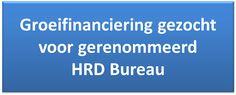 #groeifinanciering gezocht voor gerenommeerd #HRDBureau #ondernemers #investeerders