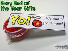 End of the year students gifts from Target! Grab these free tags to go with your EOY gifts.