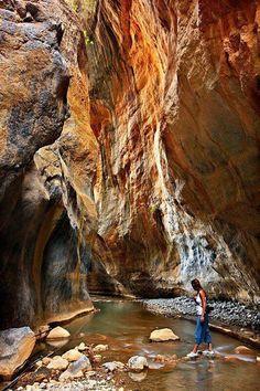 Samaria Gorge National Park Crete, Greece