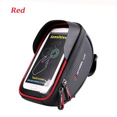 Waterproof Touch Sceen Mobile Phone GPS Bag Handlebar Mouting - Waterproof Phones T Mobile Bicycle Accessories, Motorcycle Accessories, Bicycle Panniers, Bike, Frame Bag, Car Audio, St Kitts And Nevis, Golf Bags, Chic Outfits