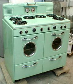 Mint Green Northstar Retro Range · Vintage AppliancesRetro Kitchen  AppliancesRetro ...