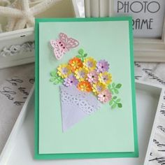 how to make handmade greeting cards for teachers day diy handmade three dimensional greeting cards business card material template Greeting Cards For Teachers, Teacher Cards, Handmade Teachers Day Cards, Cute Mothers Day Gifts, Mothers Day Cards, Handmade Greetings, Greeting Cards Handmade, Flowers For Mom, Card Patterns