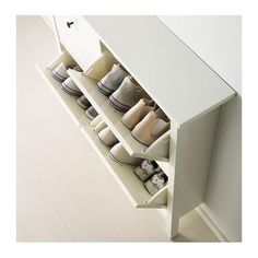 hemnes shoe cabinet with 4 white 107x101 cm