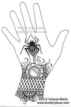 23 best folk art/henna art patterns images on Pinterest