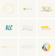 Modern & Minimal Logos - Fun and colourful logo designs - Brand Identity Design, Logo Design Services, Brand Design, Good Logo Design, Conception Graphique Minimale, Www Logo, Logo Free, Game Design, Booth Design