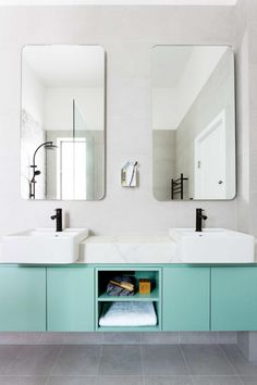Bathroom makeover style - perfect scale
