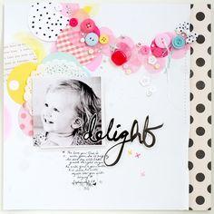 faith hope washi: Layout * Delight
