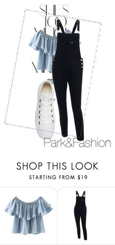 """""""Here I Go"""" by aashi-pdey ❤ liked on Polyvore featuring Rika, WithChic and Converse"""