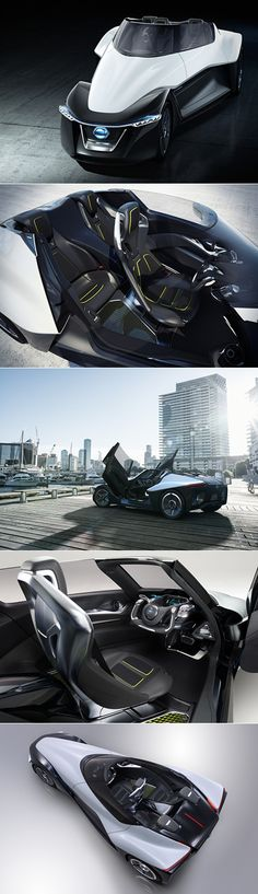 5 Pictures of the Futuristic Nissan BladeGlider, Boasts Triangular Design