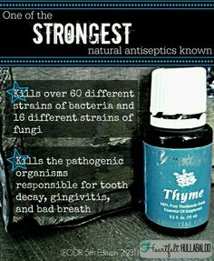 Young Living Thyme  Ask me about how you can order this awesome oil.