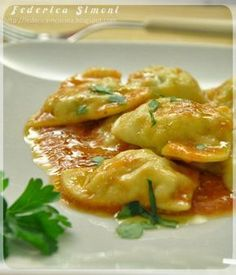 Rana Pasta, Pasta Recipes, Gourmet Recipes, Cannelloni, European Cuisine, Homemade Pasta, International Recipes, Relleno, I Love Food