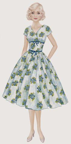 Mustrilaegas: Margareti kleidid nr 5 ja 6