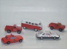 "TONKA Trucks Corgi Mustang Diecast & Plastic Lot of 5 Vehicles~ 3.5""- 5"" long by VtgTreasureTroves on Etsy"