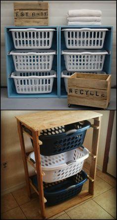 Laundry room cabinets, laundry room storage, diy cabinets, laundry basket d Laundry Basket Shelves, Laundry Basket Dresser, Laundry Basket Holder, Laundry Basket Organization, Laundry Room Cabinets, Laundry Room Organization, Diy Cabinets, Diy Laundry Bins, Laundry Hamper Cabinet
