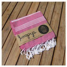 Loopys Fairy Floss Pink Premium Turkish Towel Peshtemal Beach Bath Cotton Hammam