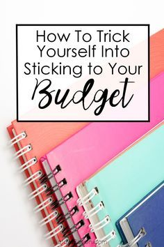 How To Trick Yourself Into Sticking to Your Budget | Natalie Bacon