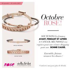 Octobre Rose : Une séance shopping pour une bonne cause | Stella & Dot FR