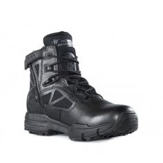 Belleville 916z Tactical Research Chrome Side Zip Hot Weather Black Boot