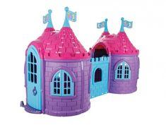 Transpune clipele de joacă ale micuțelor prințese într-o lume de poveste cu căsuța de joacă  PRINCESS CASTLE care îmbină perfect stilul cu distracția. 🤩🤩🤩 Pe lângă faptul că arată excepțional, îi garantează fetiței dumneavoastră ore întregi de amuzament alături de prietenii săi și de familie. Special create pentru micuțele prințese, cele 2 căsuțe comunică printr-un culoar. Princess Castle, Solar, Twins, Gemini, Twin, Cinderella Castle