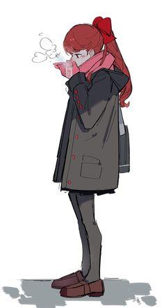 Persona 5 Anime, Persona 5 Joker, Female Characters, Anime Characters, Cute Ginger, Shin Megami Tensei Persona, Cartoon Shows, Star Wars Art, Manga