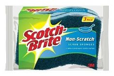 Donna has shared her Scotch Brite No Scratch Sponges review for cleaning pots and pans and even more things in her home.  There are, of course, many different